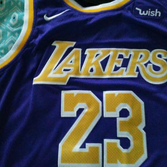 a444fe24156 Nike Other | Lebron James Purple Lakers Jersey Size Xl Mens | Poshmark